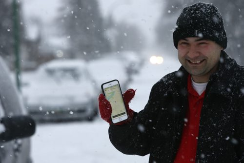 James Perih created the Know Your Zone app for both Apple and Android devices: it will tell you the zone you're currently in or you can put in a location and it will identify the zone.  Aldo Santin story.Wayne Glowacki / Winnipeg Free Press Dec. 16   2015