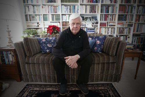 January 3, 2016 - 160103  - Tom Denton, the executive director of Hospitality House Refugee Ministry and a member of the Sponsorship Agreement Holders Council of Canada, who says the federal government  should bump up the number of privately sponsored refugees it accepts every year from 6500 to 100,000 is photographed in his home Sunday, January 3, 2016.  John Woods / Winnipeg Free Press