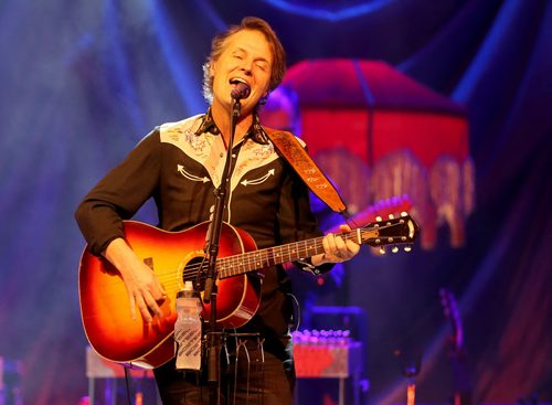 Jim Cuddy of Blue Rodeo performing at MTS Centre, Friday, January 15, 2016. (TREVOR HAGAN/WINNIPEG FREE PRESS)