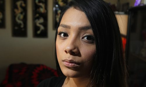 Caley Fawcett is a 17-year-old mom who was allegedly assaulted by transit bus driver. It was a she-said, she-said until video surveillance proved the bus driver had allegedly assaulted Fawcett first, and she defended herself. The bus driver has been suspended. BORIS MINKEVICH / WINNIPEG FREE PRESS February 12, 2016