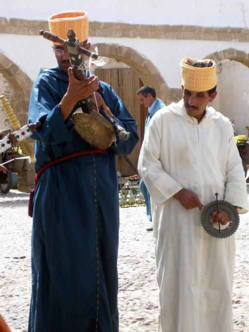 CASABLANCA -- The bad news? I'm a 40-year-old woman from Winnipeg who has just landed in a Muslim country only to learn the airline has lost my luggage. All of my luggage.  Gnaoua musicians entertain at lunchtime in Essaouira. Karen Wiecek/Winnipeg Free Press