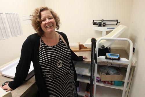 JOE BRYKSA / WINNIPEG FREE PRESSKlinic Executive Director Nicole Chammartin in their building at 870 Portage Ave- Sept 02, 2016 -(See Martin Cash story)