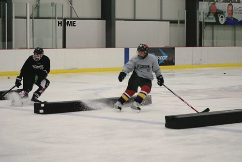 Canstar Community News Students learn skating tricks that will make them faster and more efficient in the game.