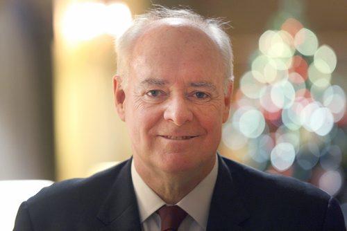 JOE BRYKSA / WINNIPEG FREE PRESS Perrin Beatty President and CEO of the Canadian Chamber of Commerce in Winnipeg today -  Dec 07, 2016 -( See Martin Cash story)