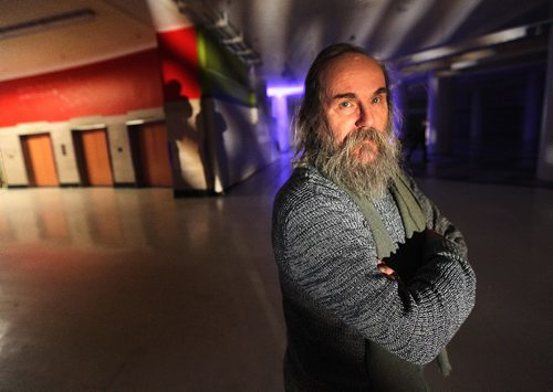 PHIL HOSSACK / WINNIPEG FREE PRESS  -  NEW MUSIC - Winnipeg Sony Classical recording artist and Continuous Music pianist Lubomyr Melnyk posed in the downtown Hudson's Bay store basement before his presentation Thursday evening. See Review.  - February 2, 2017