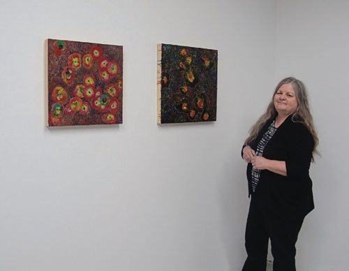 Canstar Community News Susan Birdwise, of East St. Paul, is one of four artists whose work will be shown at the cre8ery (125 Adelaide St.) from March 10-21. (SHELDON BIRNIE/CANSTAR/THE HERALD)