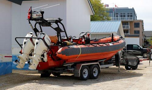 TREVOR HAGAN / WINNIPEG FREE PRESS The Coast Guard has announced its plan to abandon its presence in Gimli, Thursday, June 1, 2017.