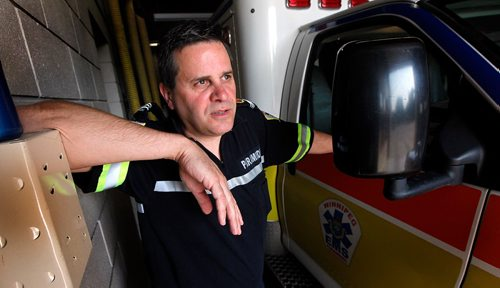 "PHIL HOSSACK / WINNIPEG FREE PRESS  -   Kevin Martin, a city paramedic is back at work after dealing with PTSD. See Mike McIntyre's story. In a nutshell: Martin is doing fantastic, and he will be the lead person in my story. He's been back at work for several months, has had a few minor setbacks but nothing significant, his first tests came in the form of seeing dead bodies again, which he's been able to process. His money quote"" ""I'm proof there is light at the end of the tunnel. Sometimes the tunnel is a lot longer than you think.""   -  July 26, 2017"