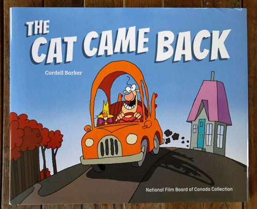 WAYNE GLOWACKI / WINNIPEG FREE PRESS  49.8   Cordell Barker, Academy Award-nominated animator's  1988 film The Cat Came Back has just come out in book form.    Dave Sanderson story Sept. 8 2017