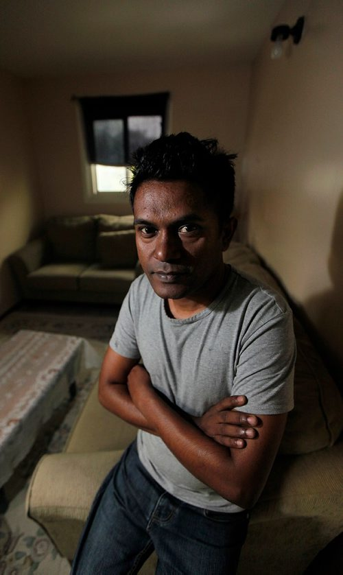 PHIL HOSSACK / WINNIPEG FREE PRESS  -  Mohamed Tayeb, he fled ethnic cleansing in Buddhist-majority Myanmar and wants Canada to step up and put pressure on the government there to stop it. Mohamed has signed a petition calling for Canada to revoke Myanmar leader Aung San Suu Kyi's honoray Cdn citizenship. See Carol Sanders' story  - Sept 13, 2017