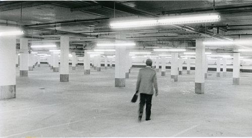 GERRY CAIRNS / WINNIPEG FREE PRESS Caption published with image: Portage Place mall has room for 1,000 vehicles in two underground lots that stretch for three downtown blocks. Image taken: Sept. 10, 1987