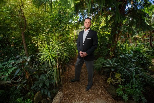 MIKE DEAL / WINNIPEG FREE PRESS The Assiniboine Park Conservancy announced that the Conservatory at Assiniboine Park will permanently close in April 2018. Bruce Keats, Chief Operations Officer at Canada's Diversity Gardens. 180112 - Friday, January 12, 2018.