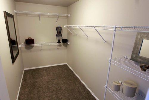 BORIS MINKEVICH / WINNIPEG FREE PRESS NEW HOMES - 139 Castlebury Meadows Drive. Big walk in closet in the master bedroom. TODD LEWYS STORY  Feb. 12, 2018