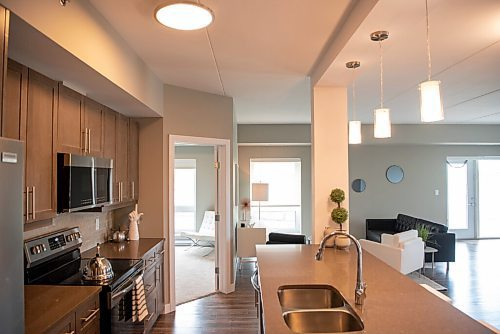 ALEX LUPUL / WINNIPEG FREE PRESS    A two-bedroom unit in the new lifestyle apartment complex, The Ascot, is photographed in Winnipeg on Friday, June 11, 2021.  Reporter: Todd Lewys