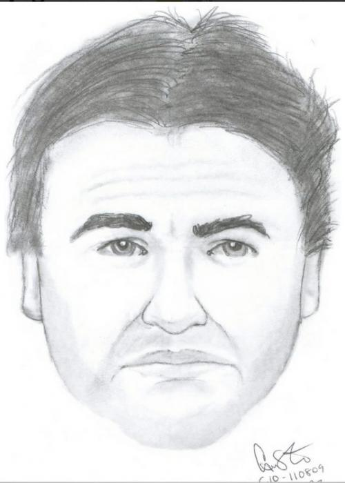 """The suspect in the May 23 assault is described as a 'clean cut' white man in his mis to late 40s. He is approximately 5'7"""" tall and weighs about 180 pounds with short, dark brown hair. He was wearing dark pants, a beige shirt, dark Crocs-type sandals and a black baseball cap worn backwards.  Winnipeg Free Press"""